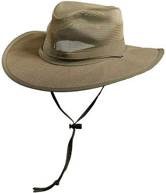 JCPenney Dorfman DPC Outdoor Design Supplex Mesh Safari Hat