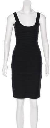 Herve Leger Sleeveless Bandage Dress