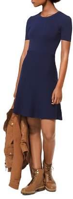 MICHAEL Michael Kors MICHAEL Stretch-Knit Flare Dress