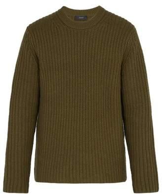 Joseph - Chunky Knit Wool Sweater - Mens - Khaki