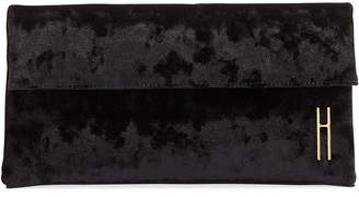 Hayward 1712 Crushed Velvet Clutch Bag