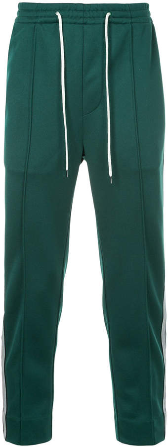 Side-Stripe Drawstring Trousers