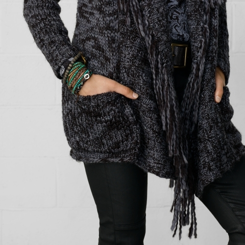 Denim & Supply Ralph Lauren Fringed Cardigan