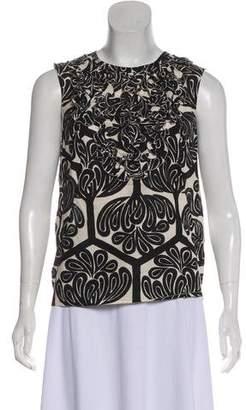 Marni Sleeveless Printed Blouse