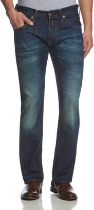 Replay Straight Leg Jeans Tillbor, Color Dark Blue, Size: 32/32