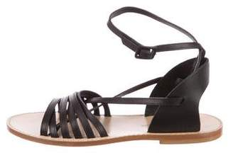 Band Of Outsiders Leather Multistrap Sandals