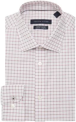 Tommy Hilfiger Slim-Fit Checkered Dress Shirt