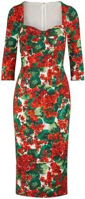 Dolce & Gabbana Rayon midi-dress
