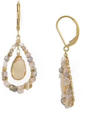 Dana Kellin Floating Stone Drop Earrings
