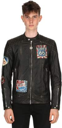 Moto Garage Leather Jacket