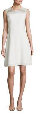 Elie Tahari Bevin A-Line Dress $448 thestylecure.com