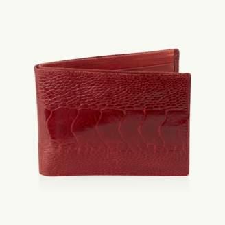 Okapi Billfold Wallet / Ahos Blue Jean Ostrich