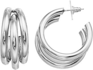 JLO by Jennifer Lopez Nickel Free Layered Hoop Earrings