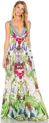 Camilla Tiered Gathered Dress $850 thestylecure.com