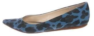 Stella McCartney Woven Pointed-Toe Flats