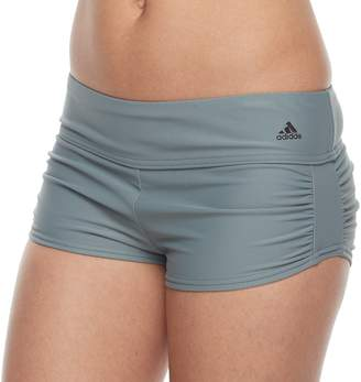 bb0f5cd3acfb7 adidas Women s Shirred Boyshort Bottoms