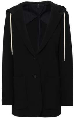 Helmut Lang Jersey Hooded Blazer