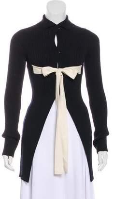 Celine Longline Knit Cardigan