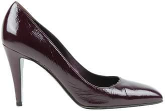 Sergio Rossi Purple Eel Heels
