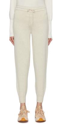 Theory Wool-cashmere track pants