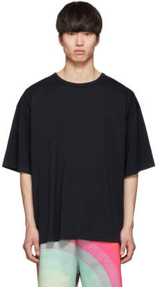 Dries Van Noten Navy Oversized Hoky T-Shirt