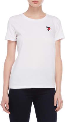 Tommy Hilfiger Heart Logo Short Sleeve Tee