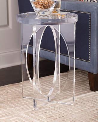 John-Richard Collection Acrylic Martini Side Table