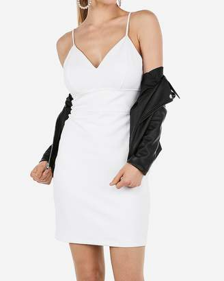 Express Seamed Sheath Mini Dress