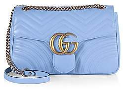 Gucci Women's GG 2.0 Medium Quilted Leather Shoulder Bag