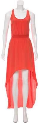 Jay Godfrey Silk High-Low Dress
