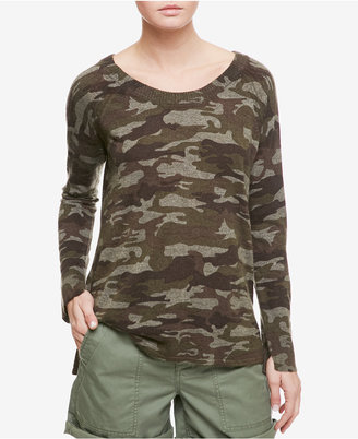 Sanctuary Renee Camouflage-Print Sweater $89 thestylecure.com