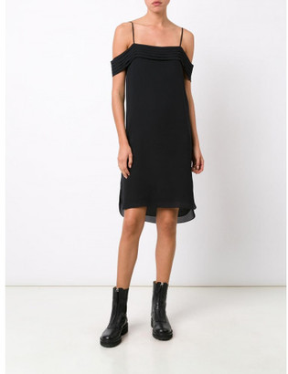 T By Alexander Wang cold shoulder dress $475 thestylecure.com