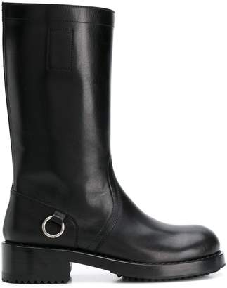 Raf Simons riding boots
