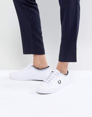 Fred Perry Kingston Leather Lace Up Sneaker