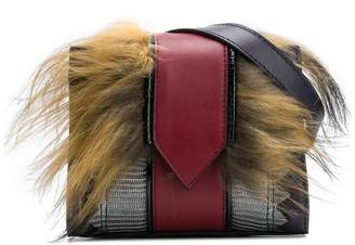 Just Cavalli fur belt bag