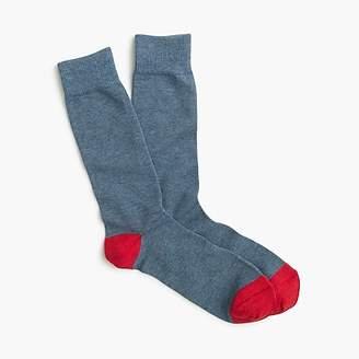 J.Crew Solid cotton socks