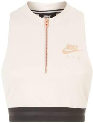Nike Zip Crop Top
