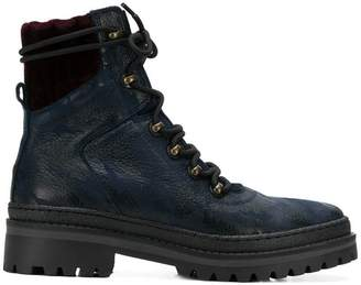 Tommy Hilfiger modern hiking boots