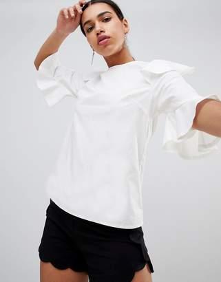 AX Paris Short Sleeve Blouse