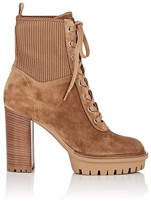 Gianvito Rossi Women's Martis Suede Ankle Boots