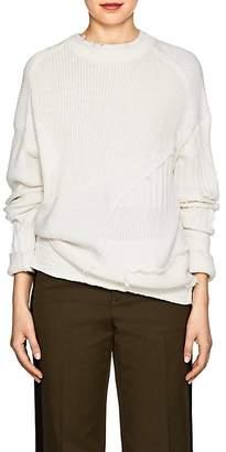 Helmut Lang Women's Mixed-Knit Cotton-Wool Sweater