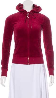 Juicy Couture Velour Hooded Sweatshirt