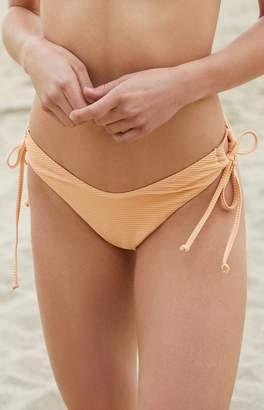 La Hearts High Cut Side Tie Bikini Bottom