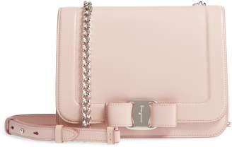 Salvatore Ferragamo Vara Leather Crossbody Bag