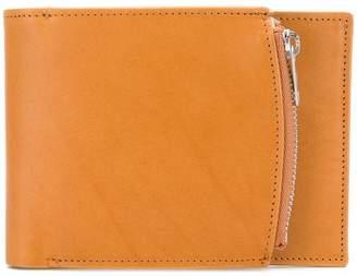 Maison Margiela zipped compartment billfold wallet