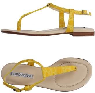 Luciano Padovan Toe strap sandals