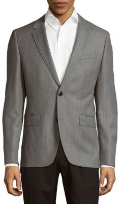 Hugo Boss Textured Long-Sleeve Jacket