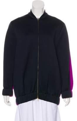 Stella McCartney Neoprene Bomber Jacket