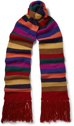Etro Striped Cashmere Scarf