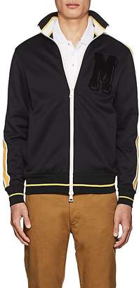 Moncler Men's Striped Jersey Track Jacket